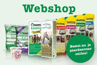 Voeradvies online bestellen bij Hartog lucerne - luzerne paard