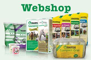 Webshop Pferdefutter - Hartog Lucerne - luzerne pferde