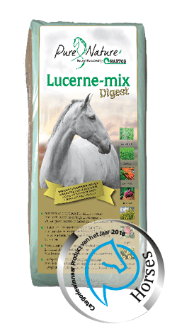 Lucerne mix Digest roughage for horses with stomach and intestinal problems.