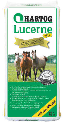 Hartog Lucerne-mix fiber rich roughage horsefeed for every horse